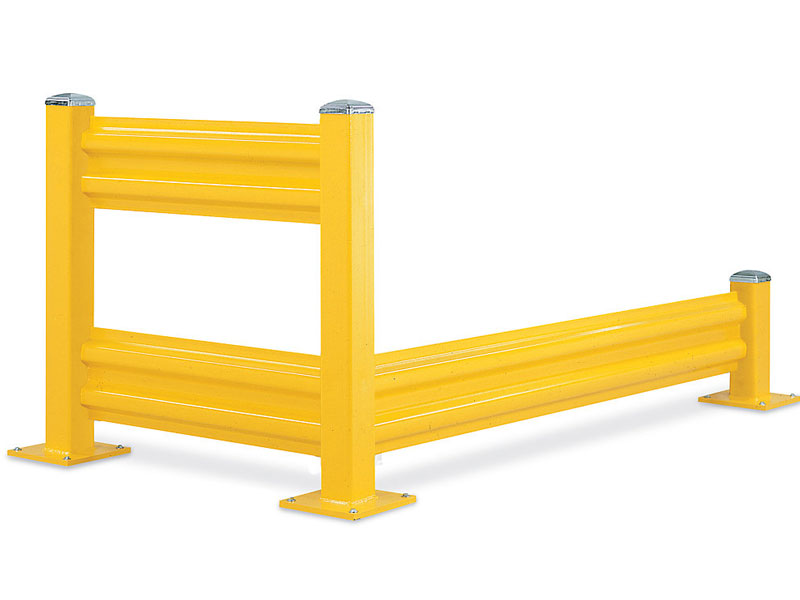 Guard rails safety barriers for warehouses herbert and
